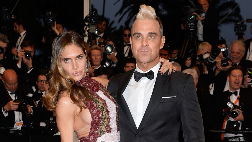 Ayda Field und Robbie Williams beim Cannes Film Festival 2015