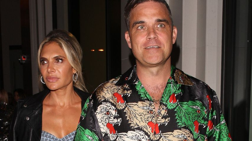 Ayda Field und Robbie Williams in Los Angeles