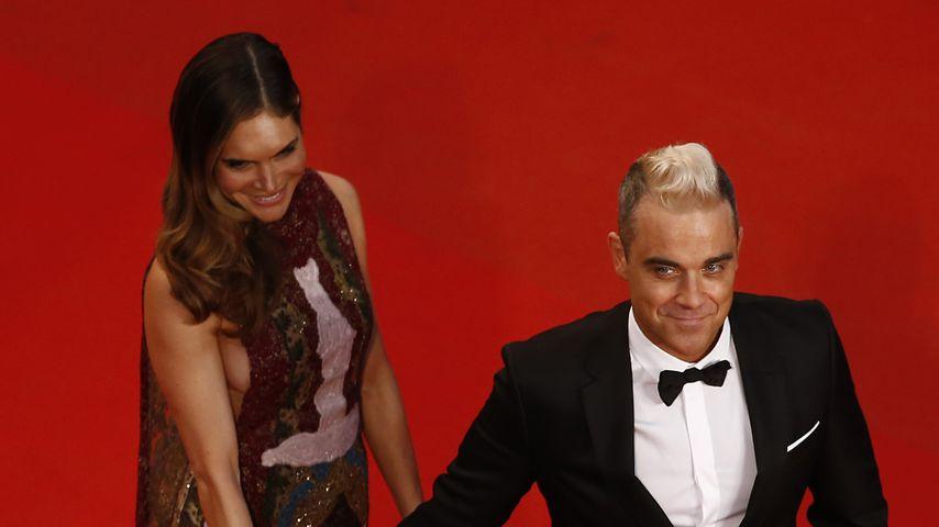 Ayda Field und Robbie Williams, 2015
