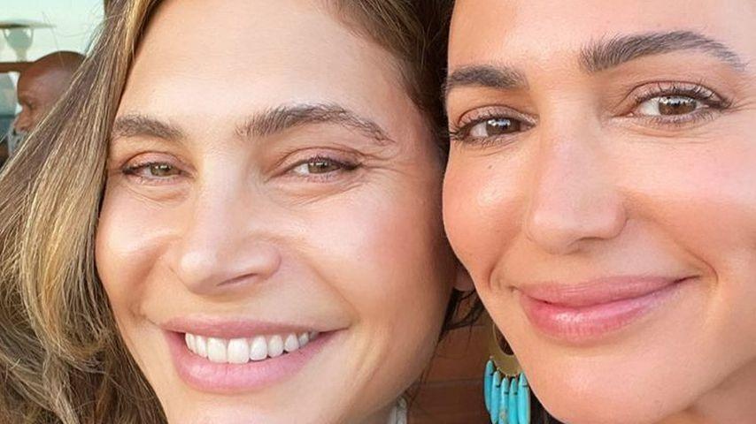 Ayda Field Williams und Lauren Silverman, 2021