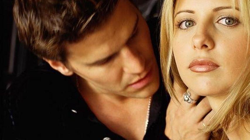 """David Boreanaz und Sarah Michelle Gellar in """"Buffy – Im Bann der Dämonen"""""""