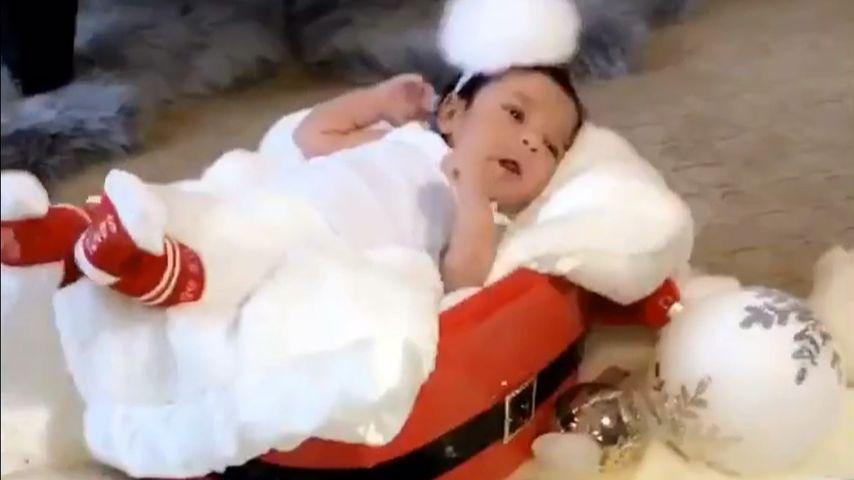 Dream Renee Kardashian Weihnachtsbild mit Socken
