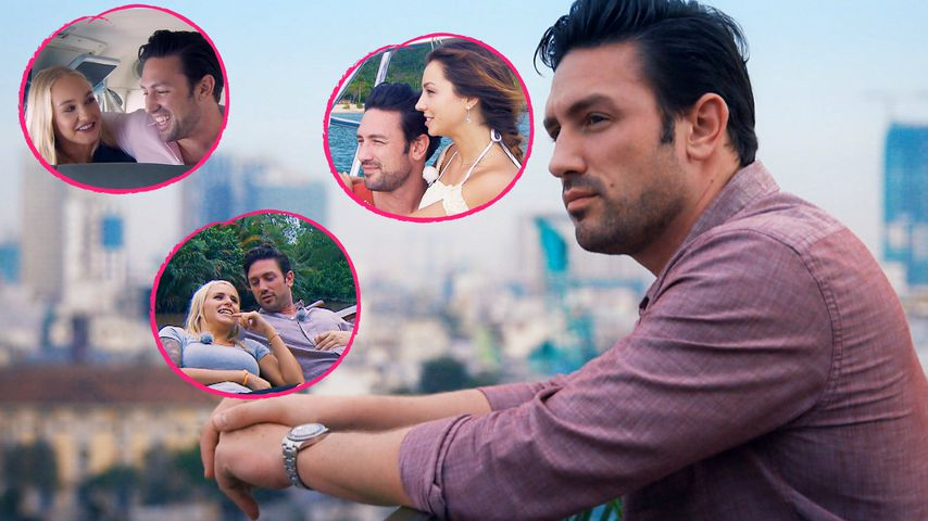 Dreamdate-Pics: Wo wirkt Bachelor Daniel am glücklichsten?