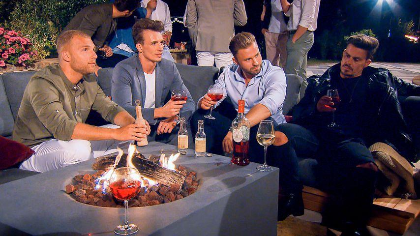 """""""Die Bachelorette""""-Kandidaten Filip, Maxim, Kevin und Manuel (v.l.)"""