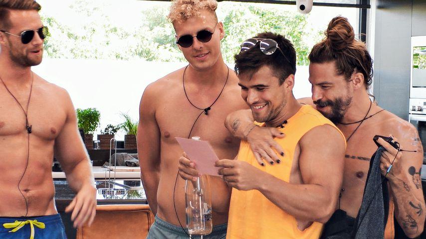 """Florian, Alex, Daniel und Alex Gerard von """"Die Bachelorette"""""""