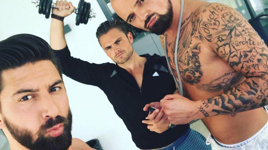 Bachelorette-Kandidaten Sebastian, Johannes und Niklas
