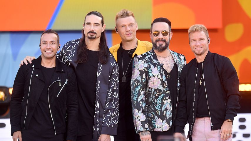 Backstreet Boys im New Yorker Central Park
