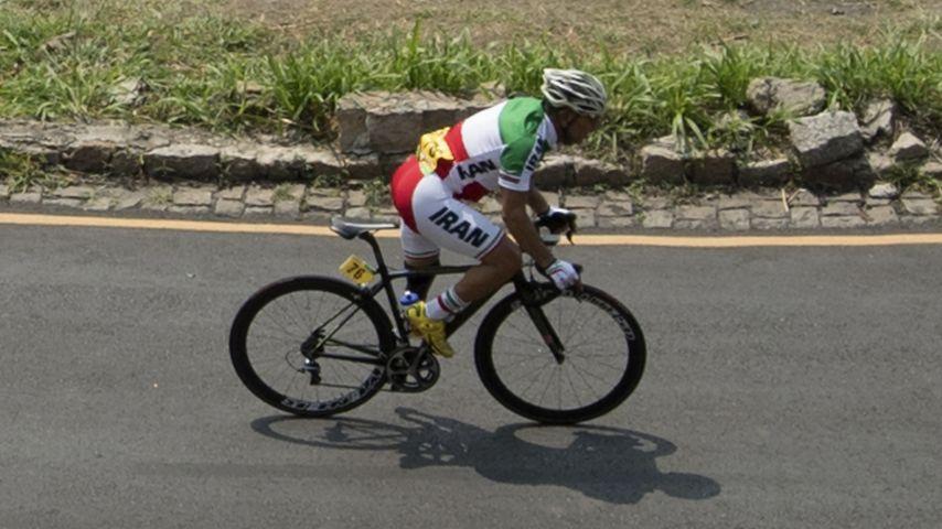 Bahman Golbarnezhad während der Paralympics in Rio 2016