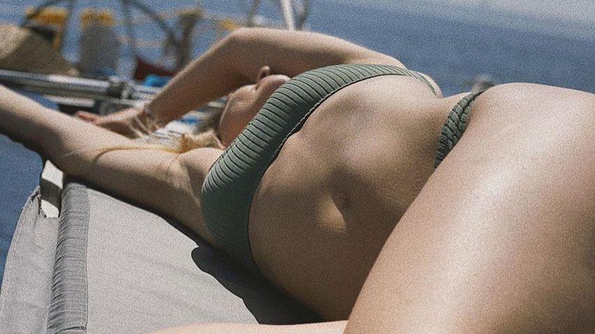 Diese Bikini-Nixe ist erst vor fünf Monaten Mutter geworden