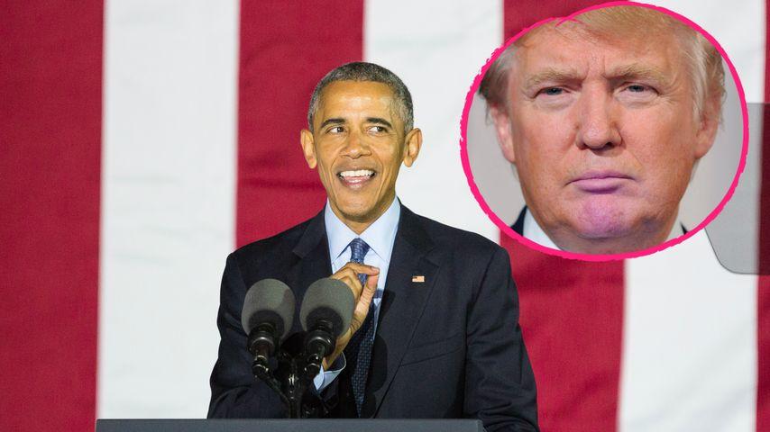 Trotz Differenzen: Obama gratuliert Trump zum Wahl-Triumph