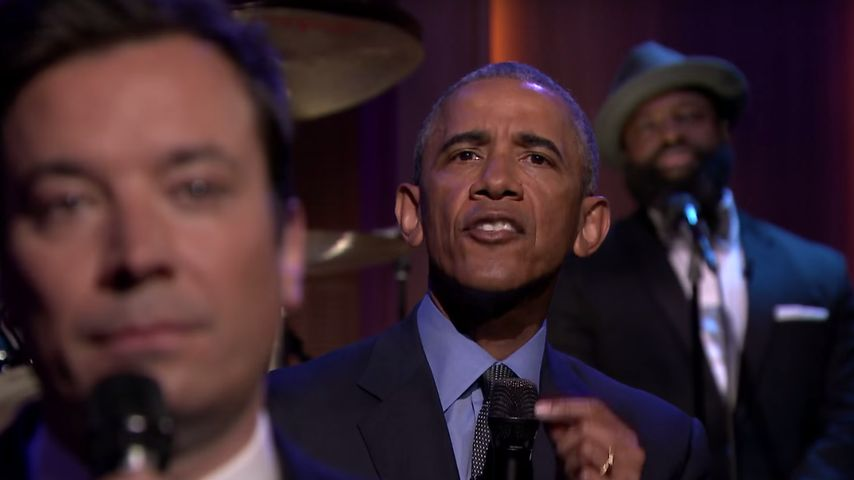 Barack Obama zu Gast bei Jimmy Fallon