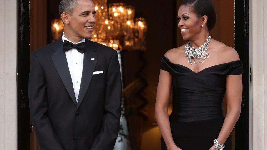 Barack und Michelle Obama bei einem Staatsbesuch in London im Mai 2011