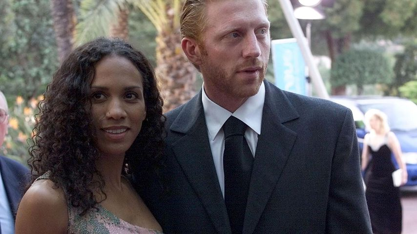 Barbara und Boris Becker 2000 in Monte Carlo