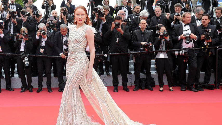 Barbara Meier im Mai 2019 beim Filmfestival in Cannes