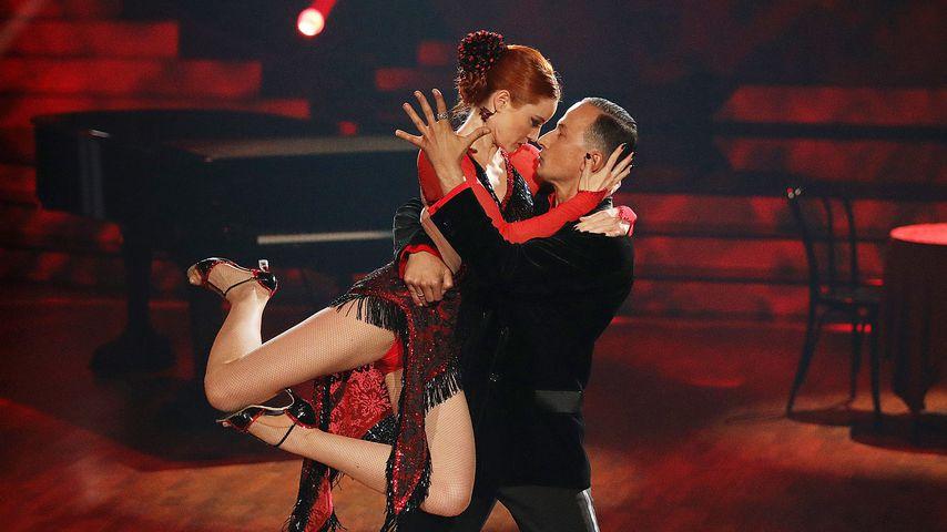 """Barbara Meier und Sergiu Luca in der 6. """"Let's Dance""""-Liveshow"""