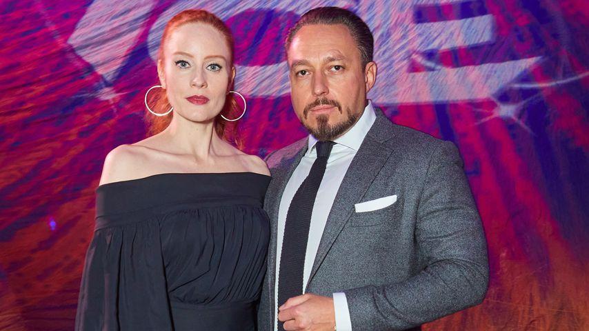 Barbara Meier und Klemens Hallmann im Januar 2020