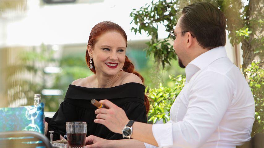 Kurz vor Hochzeit: Barbara Meier & Klemens turteln in Cannes