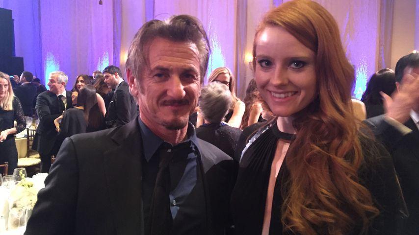 Sean Penn und Barbara Meier