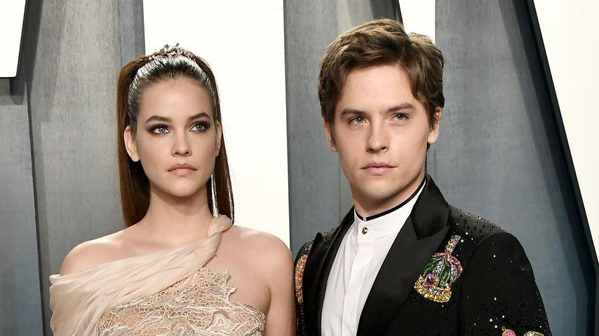 Barbara Palvin und Dylan Sprouse bei der Vanity Fair Oscar Party in Beverly Hills, 2020