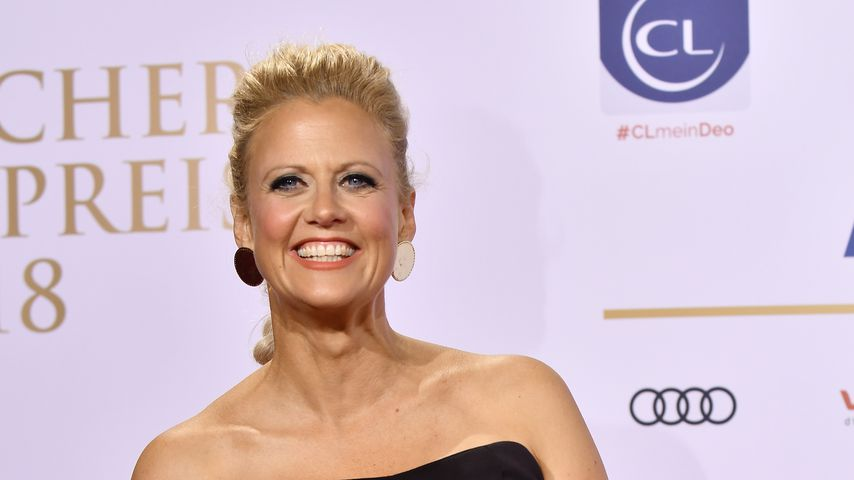 Echtes Fan-Girl: Barbara Schöneberger tanzt zu Take That