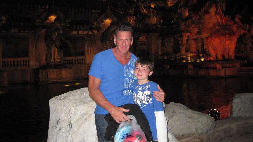 Barry Beck und sein Sohn Brock