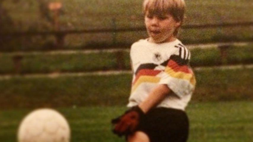 Bastian Schweinsteiger als Kind