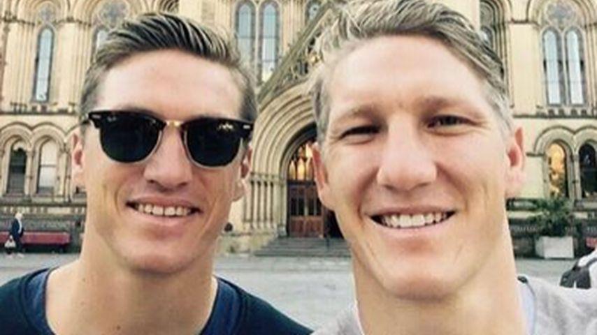 Dream-Duo: Bastian Schweinsteiger auf Tour mit Bruder Tobias