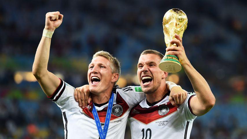 WM-Titel vor sieben Jahren: Poldi und Co. teilen Throwbacks