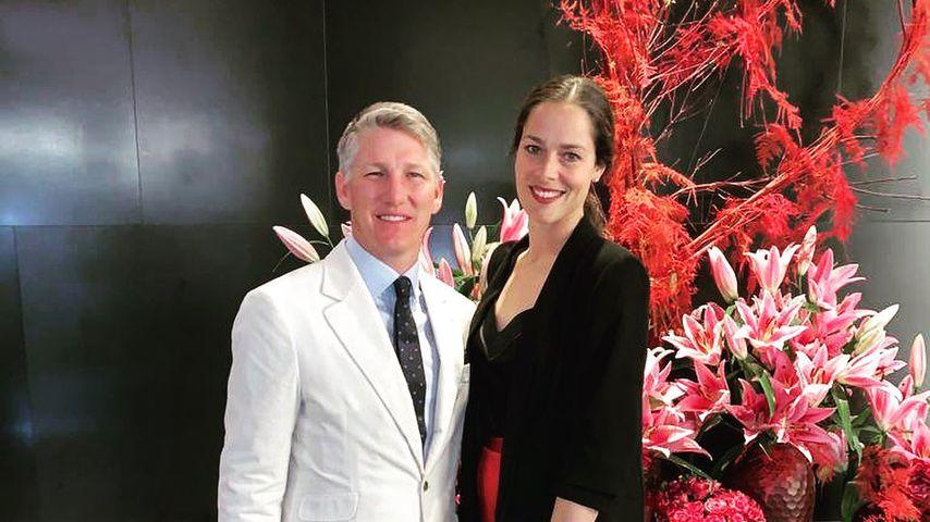 Bastian Schweinsteiger und seine Frau Ana Ivanovic, Februar 2020