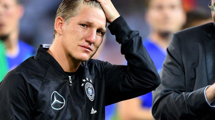 Bastian Schweinsteiger vor dem Spiel Deutschland gegen Finnland