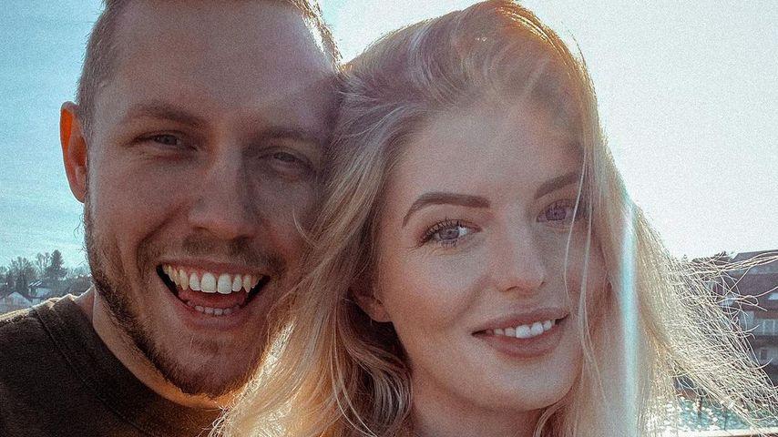 Bauer Patrick und Antonia Hemmer im Februar 2021