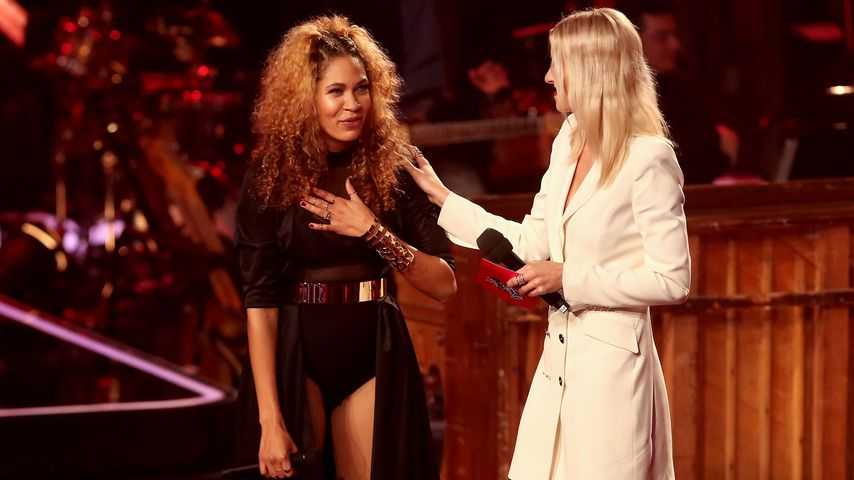 """BB Thomaz und Lena Gercke im Halbfinale von """"The Voice of Germany"""""""