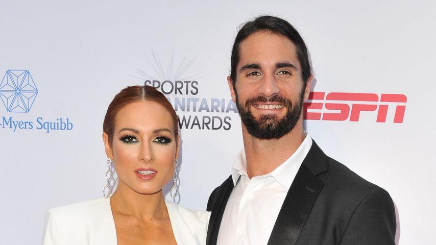 Wrestling-Stars Becky Lynch & Seth Rollins haben geheiratet