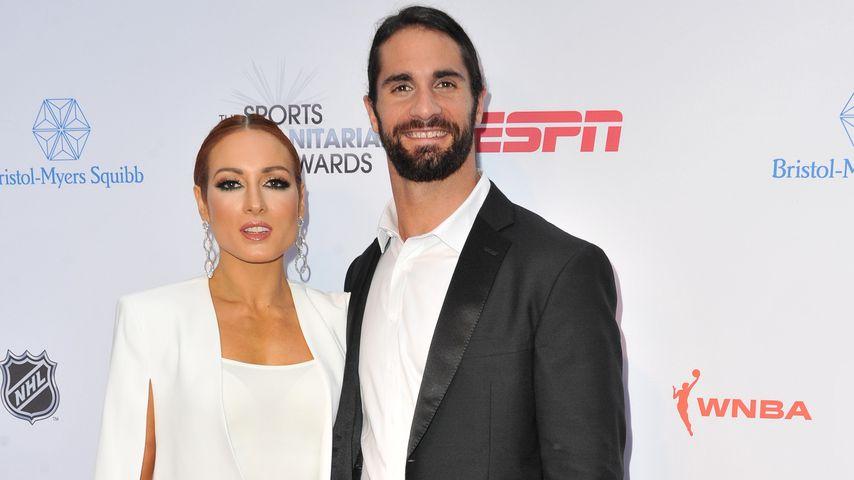 Süße News: Becky Lynch und Seth Rollins erwarten ein Baby!