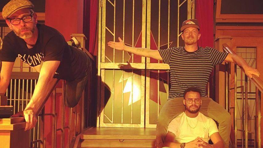 """""""Beginner"""" (DJ Mad, Denyo sowie Eizi Eiz) bei """"Circus Halli Galli"""""""