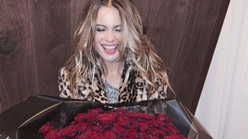 Süßes Sorry: Behati Prinsloo ist im Blumen-Glück