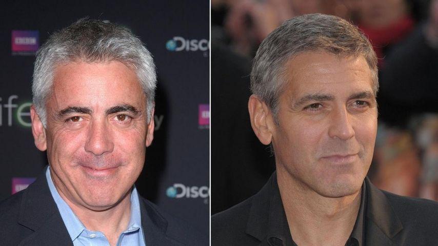 Sind George Clooney und Adam Arkin etwa Zwillinge?