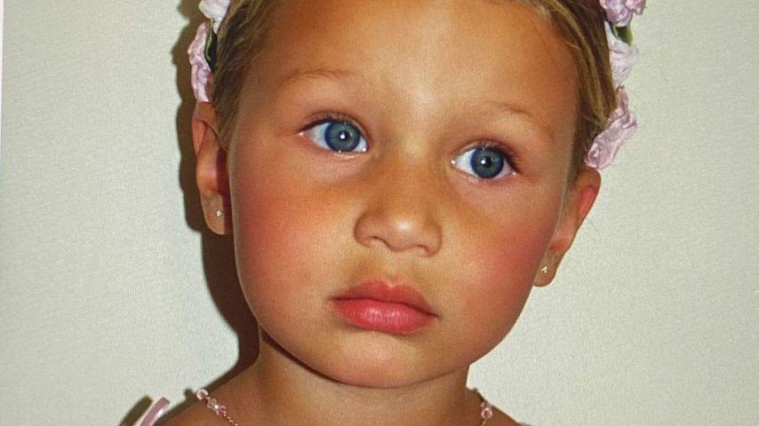 Model Bella Hadid als Kind