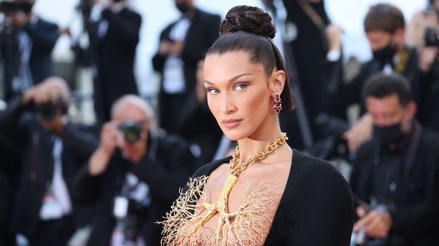 Bella Hadid beim Film Festival in Cannes im Juli 2021
