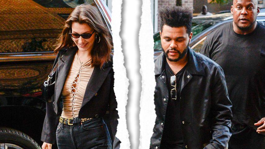 Wieder alles aus: Sind Bella Hadid & The Weeknd getrennt?
