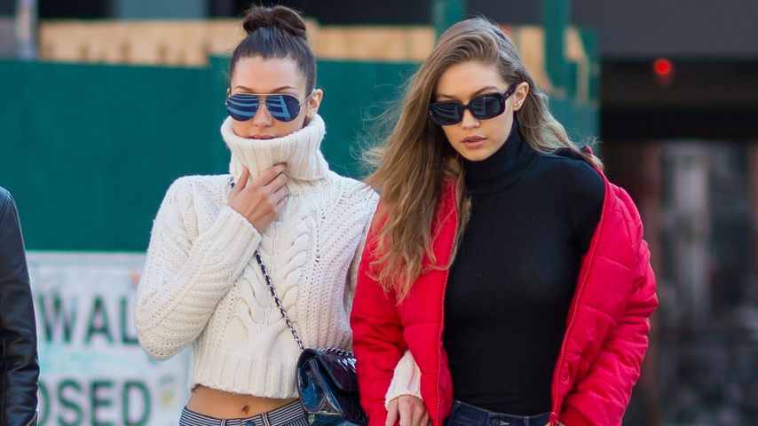 Bella und Gigi Hadid in New York