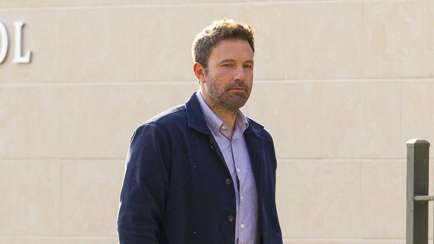 "Ben Affleck am Filmset von ""Deep Water"""