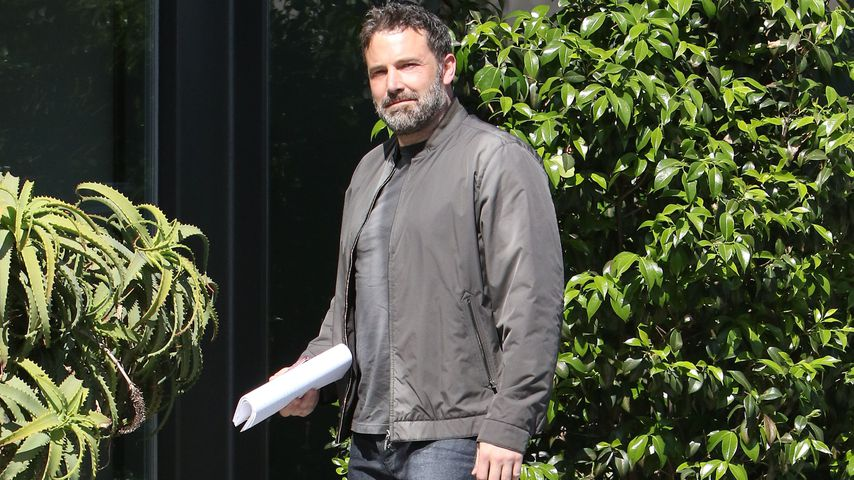 Ben Affleck in Brentwood