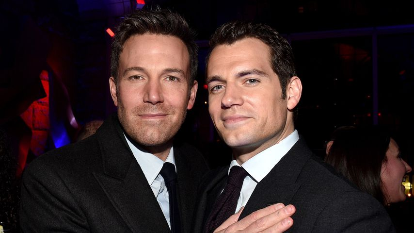"""Ben Affleck und Henry Cavill bei der Premiere von """"Batman v Superman: Dawn of Justice"""""""