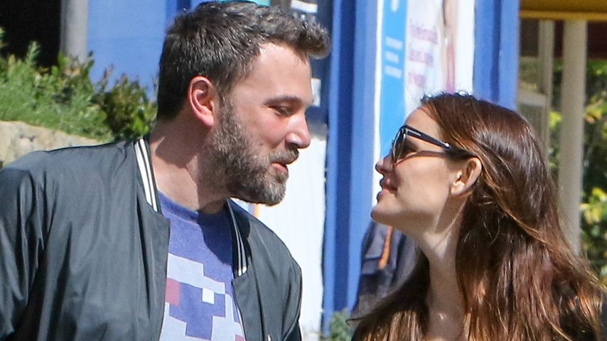 Kuschel-Scheidung: Jennifer Garner & Ben Affleck cool drauf!