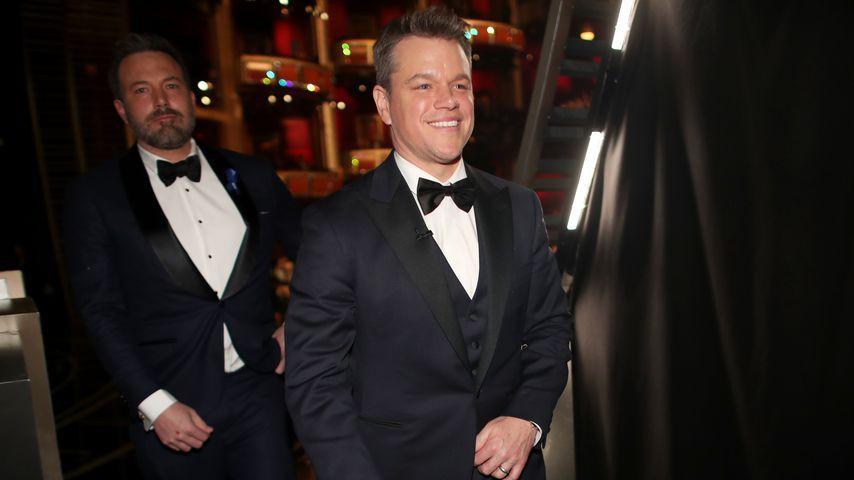Matt Damon macht mit Kindheitsfreund Ben Affleck Männerabend