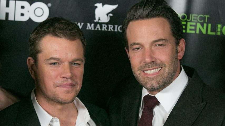 Nach Trennung: Ben Affleck weint sich bei Matt Damon aus