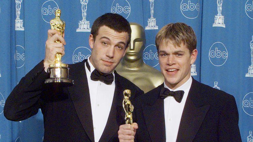 Ben Affleck und Matt Damon bei den Oscars 1998