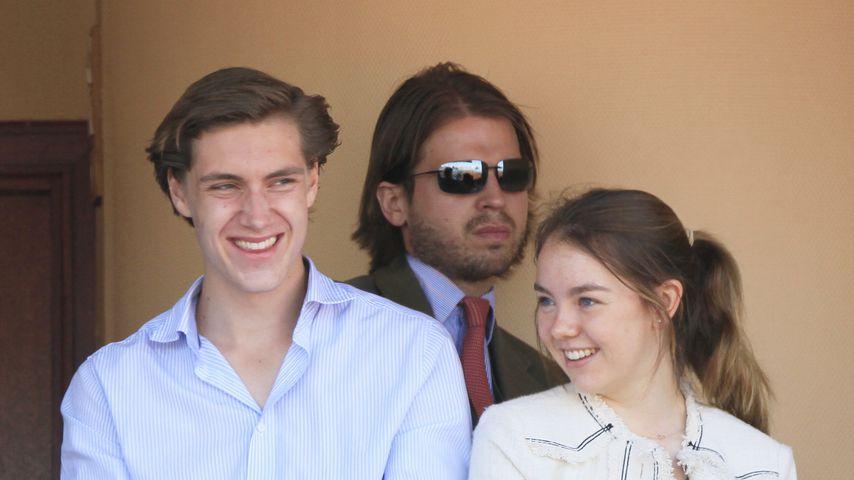 Ben Strautmann und Prinzessin Alexandra in Monaco