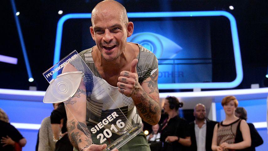 """Ben Tewaag beim Finale von """"Promi Big Brother"""""""
